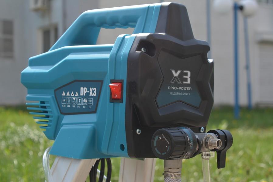 Бытовой безвоздушный краскопульт DP-X3/X6